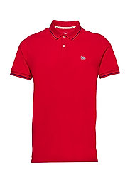 PIQUE POLO - BRIGHT RED