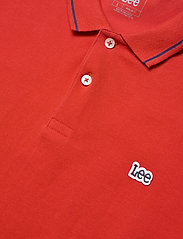 Lee Jeans - PIQUE POLO - short-sleeved polos - washed red - 2