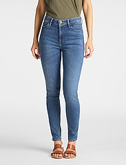 Lee Jeans - SCARLETT HIGH - slim jeans - mid copan - 0
