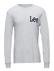 LS LOGO T - SHARP GREY MELE