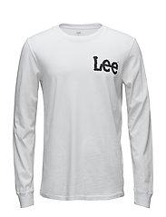 LS LOGO T - WHITE