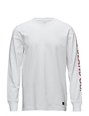 LS LEE JEANS T - WHITE