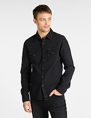 Lee Jeans - LEE WESTERN SHIRT - casual shirts - black - 0