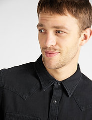 Lee Jeans - LEE WESTERN SHIRT - casual shirts - black - 4
