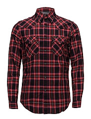 LEE WESTERN SHIRT - BRIGHT RED