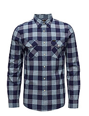 LEE WESTERN SHIRT - MIDNIGHT BLUE