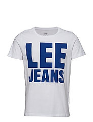 LEE JEANS GRAPHIC TE - WHITE