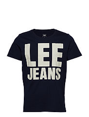 LEE JEANS GRAPHIC TE - NAVY DROP