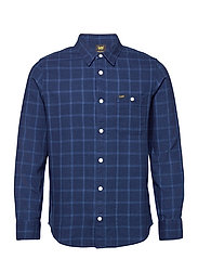 LEE ONE POCKET SHIRT - INDIGO