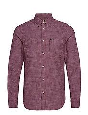 Worker shirt - MAROON