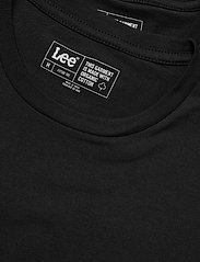 Lee Jeans - TWIN PACK CREW - basic t-shirts - black - 4