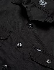 Lee Jeans - WORKWEAR OVERSHIRT - tops - black - 2