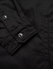 Lee Jeans - WORKWEAR OVERSHIRT - tops - black - 3