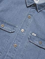 Lee Jeans - WORKWEAR OVERSHIRT - tops - grey bala - 2