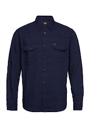 WORKER SHIRT - INDIGO