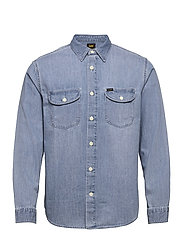 WORKER SHIRT - FROST BLUE