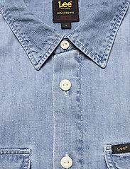 Lee Jeans - WORKER SHIRT - denim shirts - frost blue - 2