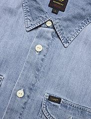 Lee Jeans - WORKER SHIRT - denim shirts - frost blue - 3