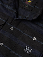 Lee Jeans - BOX POCKET OVERSHIRT - tops - sky captain - 2