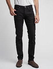 Lee Jeans - DAREN CLEAN BLACK - regular jeans - clean black - 0