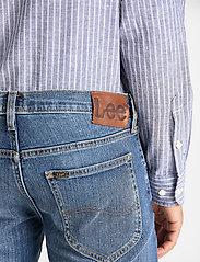 Lee Jeans - DAREN ZIP FLY - slim jeans - broken blue - 4