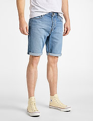 Lee Jeans - 5 POCKET SHORT - farkkushortsit - baybridge - 0
