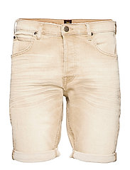 5 POCKET SHORT - FADED BEIGE