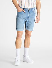 Lee Jeans - RIDER SHORT - farkkushortsit - hawaii light - 0