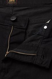 Lee Jeans - RIDER SHORT - farkkushortsit - black rinse - 3