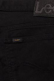 Lee Jeans - RIDER SHORT - farkkushortsit - black rinse - 4