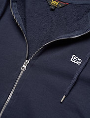 Lee Jeans - BASIC ZIP THROUGH HO - basic sweatshirts - navy - 2