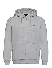 BASIC ZIP THROUGH HO - GREY MELE