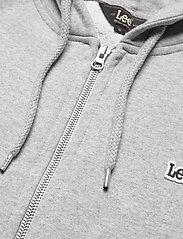 Lee Jeans - BASIC ZIP THROUGH HO - basic sweatshirts - grey mele - 2