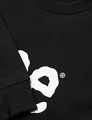 Lee Jeans - BASIC CREW LOGO SWS - tops - black - 2
