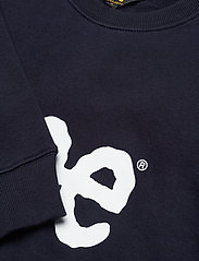 Lee Jeans - BASIC CREW LOGO SWS - tops - midnight navy - 2