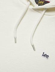 Lee Jeans - PLAIN HOODIE - basic sweatshirts - ecru - 2