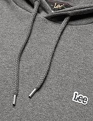 Lee Jeans - PLAIN HOODIE - hoodies - dark grey mele - 2
