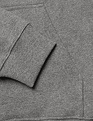 Lee Jeans - PLAIN HOODIE - hoodies - dark grey mele - 3