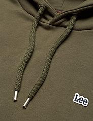 Lee Jeans - PLAIN HOODIE - basic sweatshirts - olive green - 2
