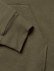 Lee Jeans - PLAIN HOODIE - basic sweatshirts - olive green - 3