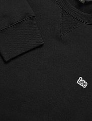 Lee Jeans - PLAIN CREW SWS - basic sweatshirts - black - 2