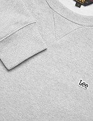 Lee Jeans - PLAIN CREW SWS - basic sweatshirts - grey mele - 2
