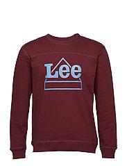 Graphic sweatshirt - MAROON