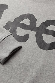Lee Jeans - LOGO SWS - tops - grey mele - 2