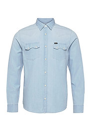LEE RIDER SHIRT - SUMMER BLUE