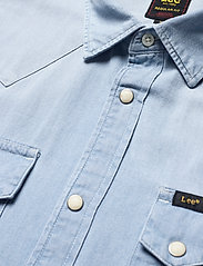 Lee Jeans - LEE RIDER SHIRT - basic shirts - summer blue - 3