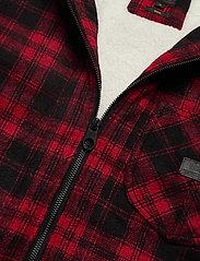 Lee Jeans - WOOL LOCO SHERPA - wool jackets - warp red - 2