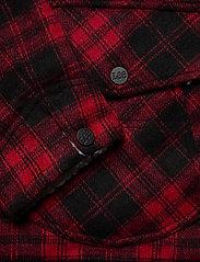 Lee Jeans - WOOL LOCO SHERPA - wool jackets - warp red - 3