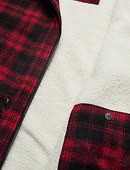 Lee Jeans - WOOL LOCO SHERPA - wool jackets - warp red - 4