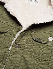 Lee Jeans - SHERPA JACKET - denim jackets - olive green - 3